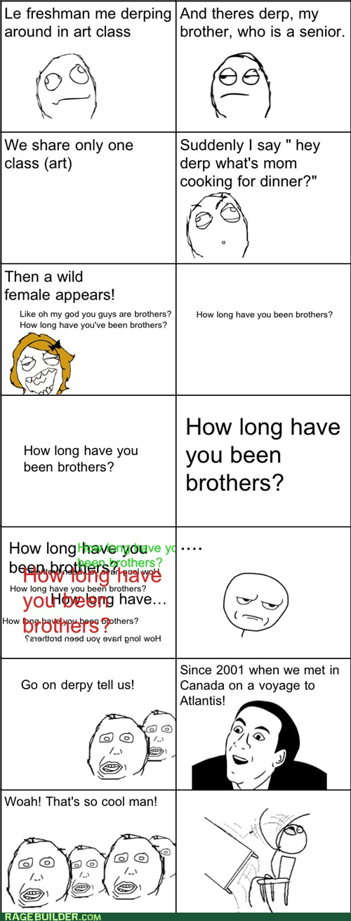 blonde moment,herpderp,brothers