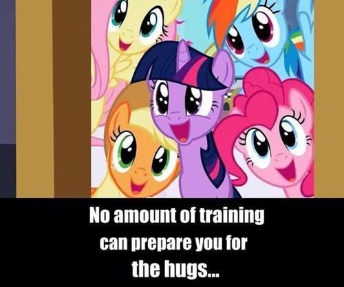 ponies hugs - 7601745408
