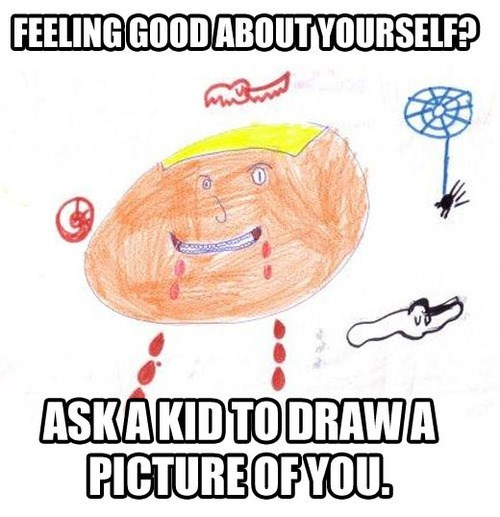 kids,honesty,drawings
