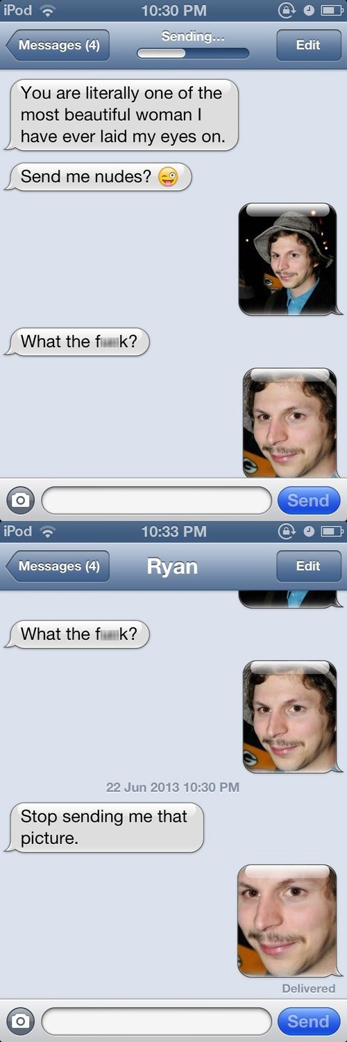no tears only dreams now michael cera texting - 7601776384