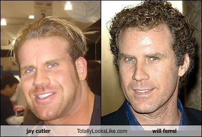 jay cutler,Will Ferrel,totally looks like,funny