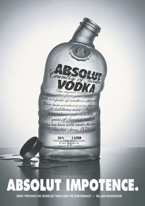 Sad absolute ads vodka funny - 7601866752