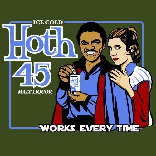 colt 45 art star wars ads funny