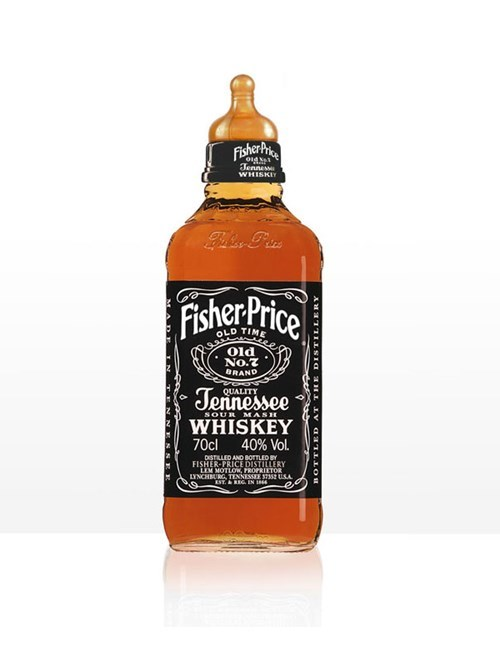 bottle fisher price whiskey funny after 12 g rated - 7601953792