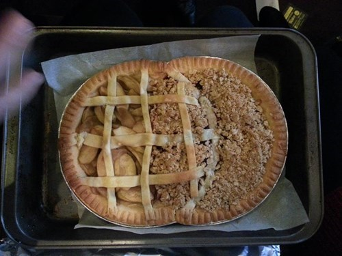 puns pie venn diagram dessert food funny g rated win - 7602024192