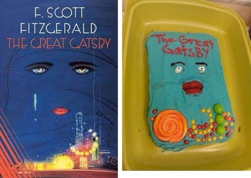 cake books the great gatsby funny Nailed It - 7602030336
