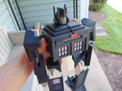 transformers tardis nerdgasm doctor who - 7602042112