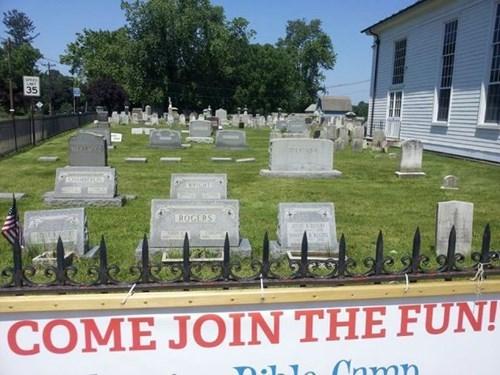 sign,graveyard,irony,funny