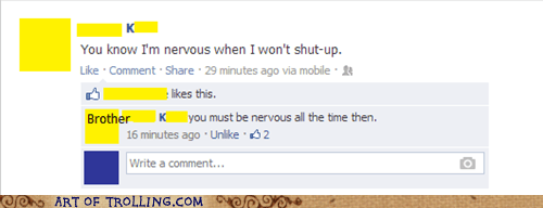 nervous,talking,facebook