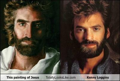 jesus,totally looks like,kenny loggins,funny