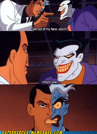joker two face funny - 7602772992