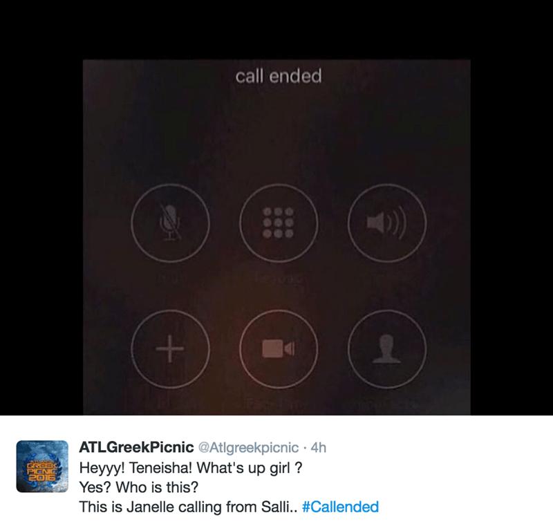 ending a call memes