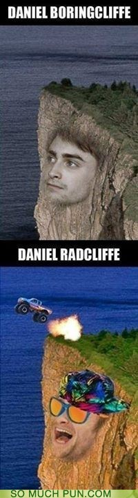 Harry Potter Daniel Radcliffe puns funny - 7603491840