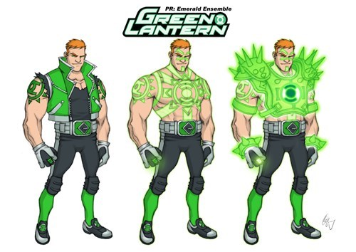art redesign Green lantern guy gardner funny - 7603788032