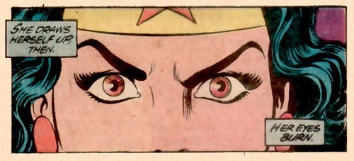 wonder woman off the page funny eye drops - 7603815168