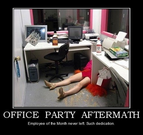 job,office party,dedication,funny