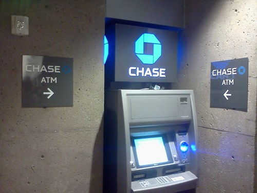 banks,ATM,captain obvious,chase