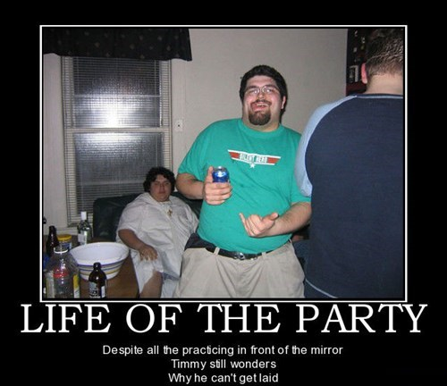 hang 10 wtf life of the party funny