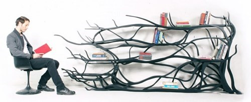 bookshelf,reading is sexy,design