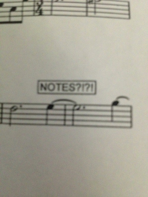 Music sheet music funny g rated