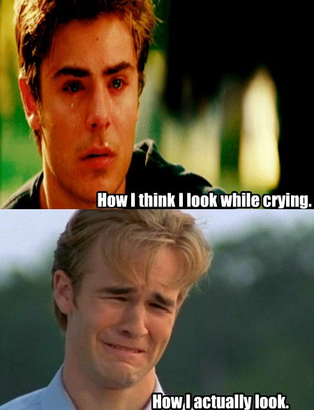Zach Effron tears funny James Van Der Beek crying - 7604586496