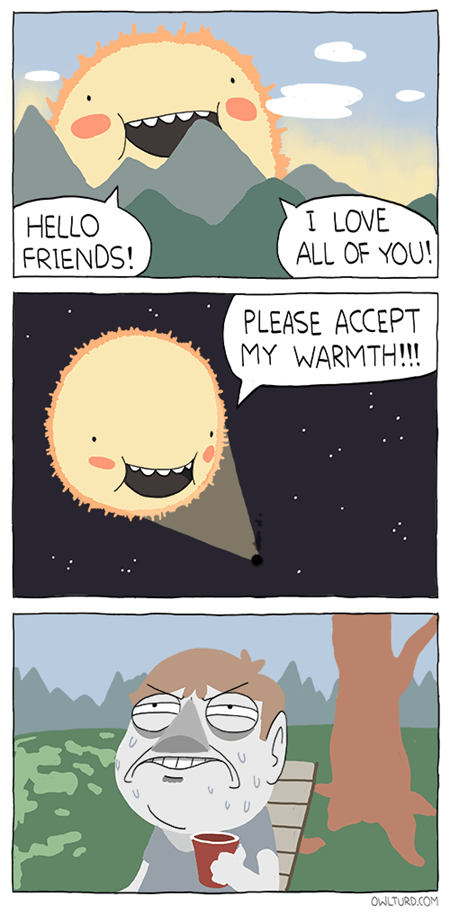 The Warmth of Friendship