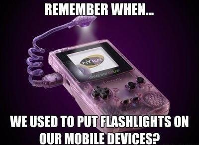 nostalgia flashlights game boy nyko - 7604716032