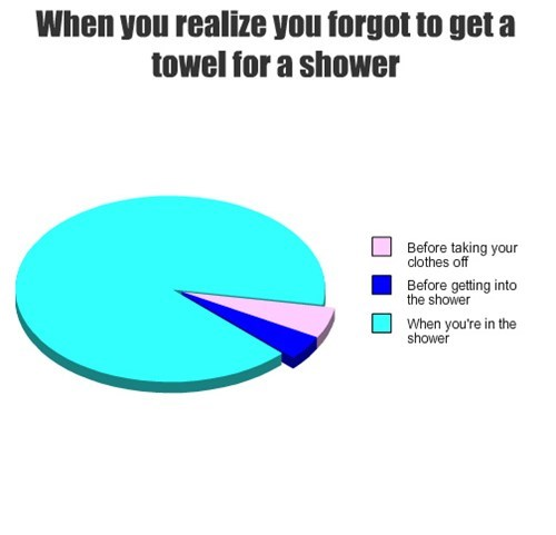 pie charts shower graphs funny - 7604718080