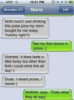prune juice gross funny