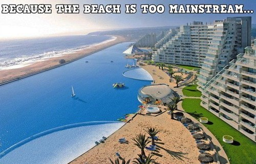 artificial water the beach - 7604826880
