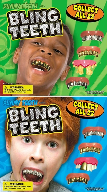 false teeth bad ideas Bling funny - 7604843520
