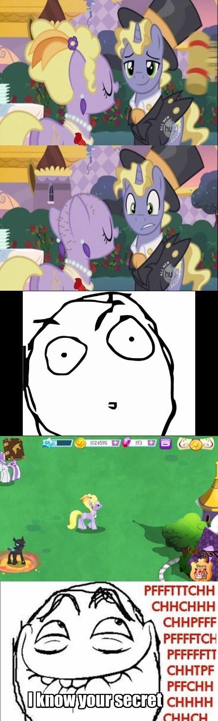 ponies bald comics - 7604911616