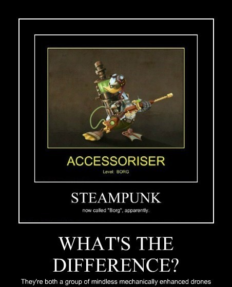 donald duck Steampunk difference funny - 7605239552