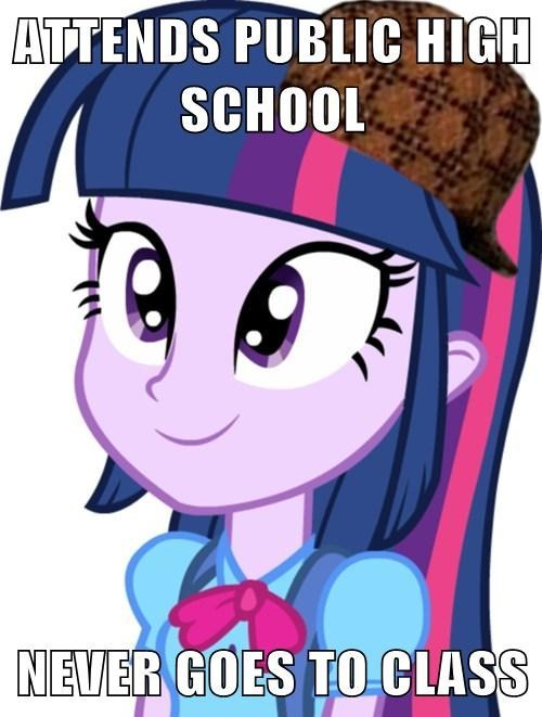 scumbag equestria girls twilight sparkle high school - 7605582080