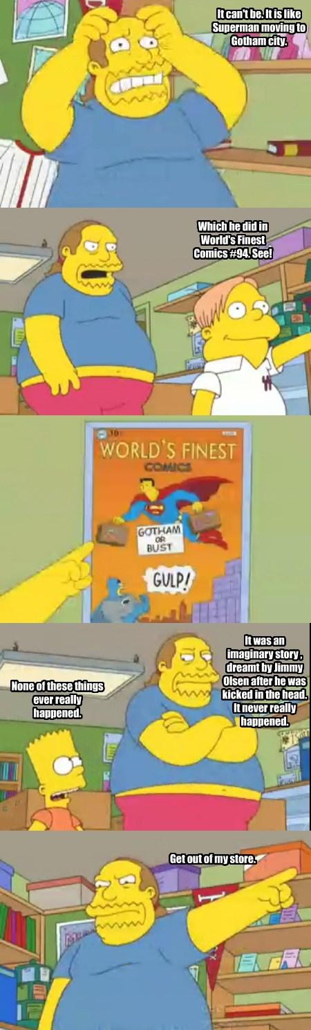 comics sad but true simpsons funny gotham city - 7606438656