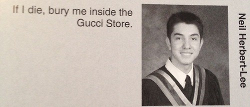 quotes gucci class yearbook - 7607304960