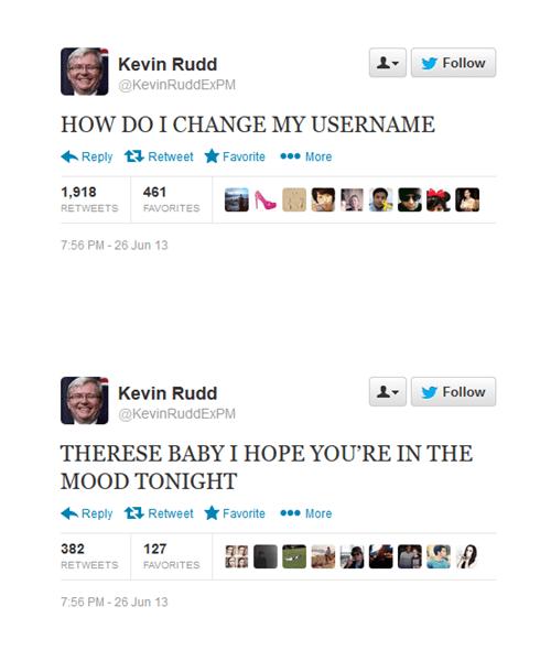 twitter,Kevin Rudd,australia,Julia Gillard,politics