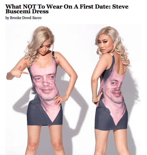 dresses steve buscemi celeb funny poorly dressed - 7607557120