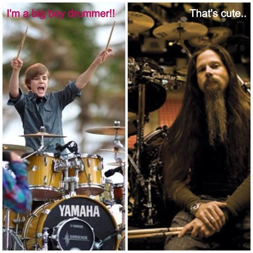 Music drummers funny lamb of god chris adler justin bieber g rated