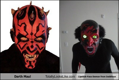 darth maul,totally looks like,insidious,demons,funny
