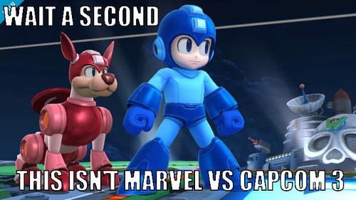 marvel vs capcom super smash bros mega man rush - 7607830784
