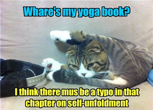 Whare's my yoga book? I think there mus be a typo in that chapter on self-unfoldment