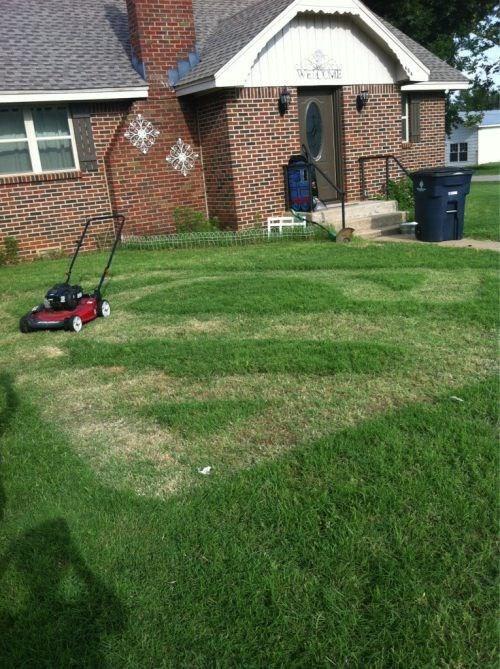 lawn chores funny superman - 7607887360