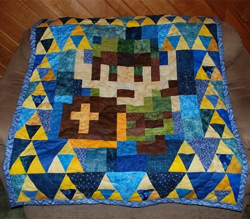Knitta Please legend of zelda nerdgasm video games funny g rated win - 7607914752