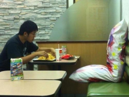 moe,McDonald's,body pillow,funny