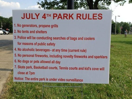 sign facepalm fun police what 4th of july fail nation g rated
