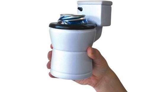 beer koozie toilet funny - 7608019712