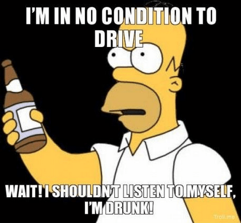 drink-drive,simpsons,funny