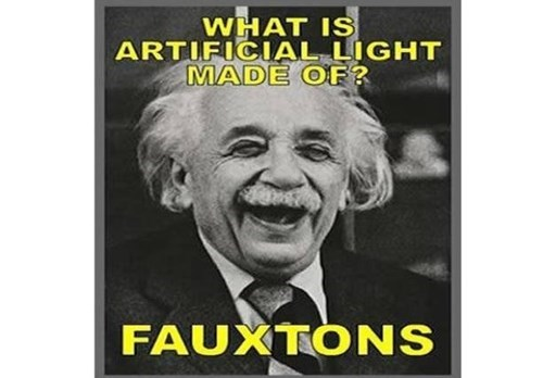puns photons light einstein funny