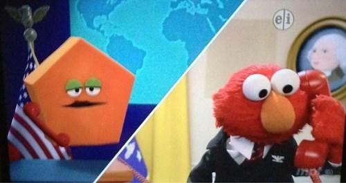 puns elmo pentagon Sesame Street funny - 7608156160